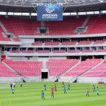Vitória faz apronto na Arena para enfrentar o Salgueiro na estreia do Pernambucano